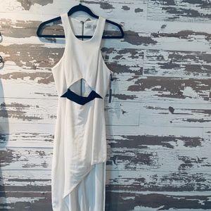 Junior Sexy Hi-Low Dress